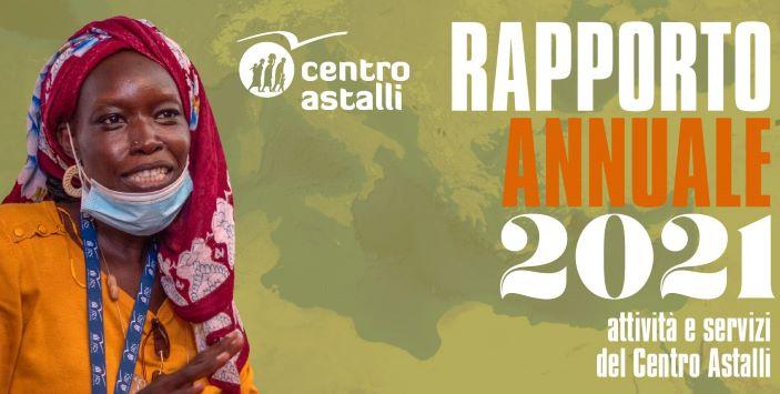 Rapporto annuale 2021 Centro Astalli